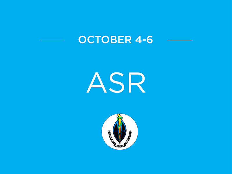 Academy of Surgical Research Meeting ASR2017