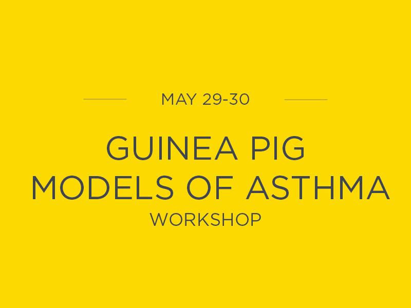 Workshop - Guinea pig models of asthma - emka Technologies