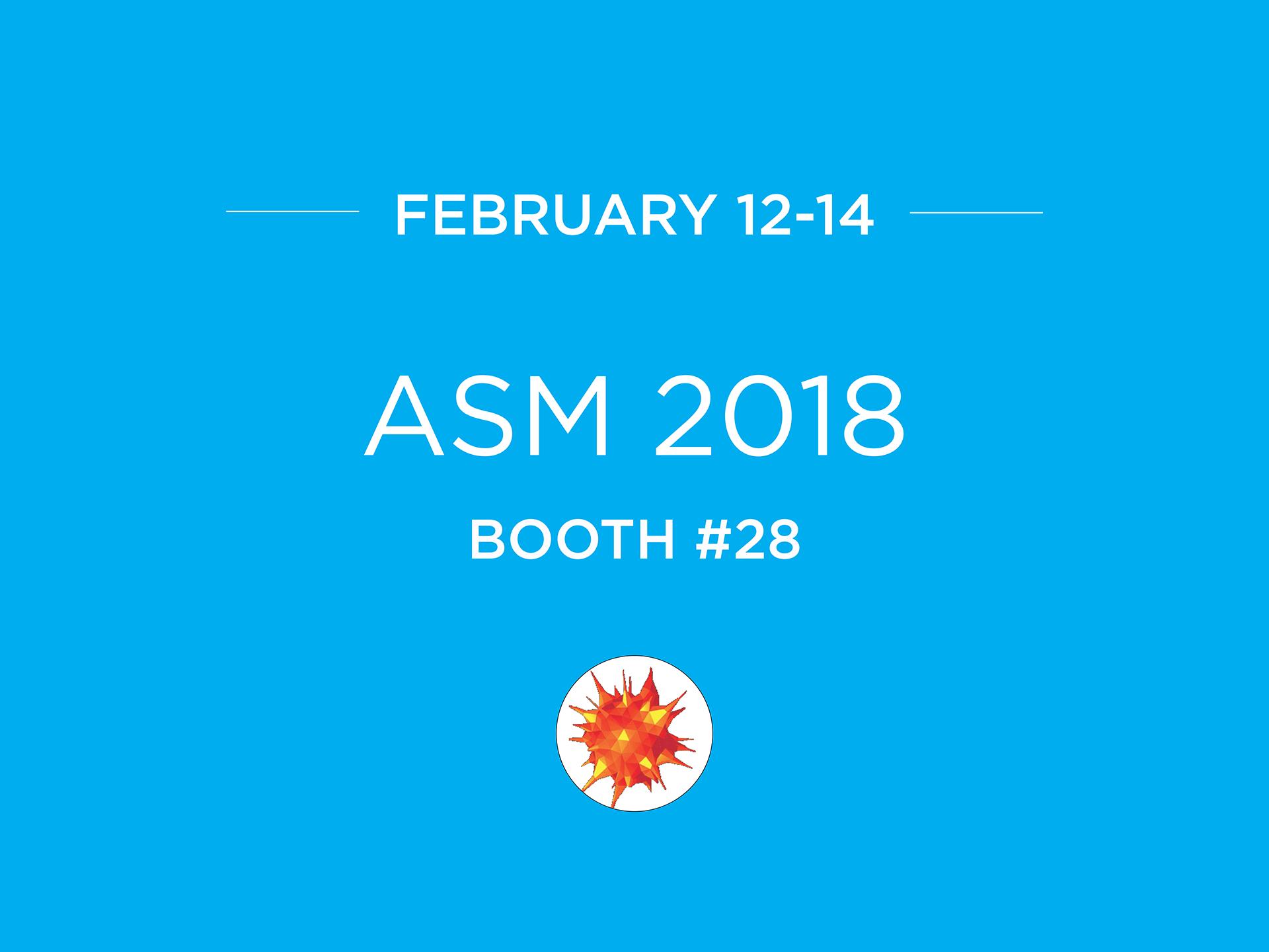 ASM Biodefense and Emerging Diseases Research meeting ASM2018