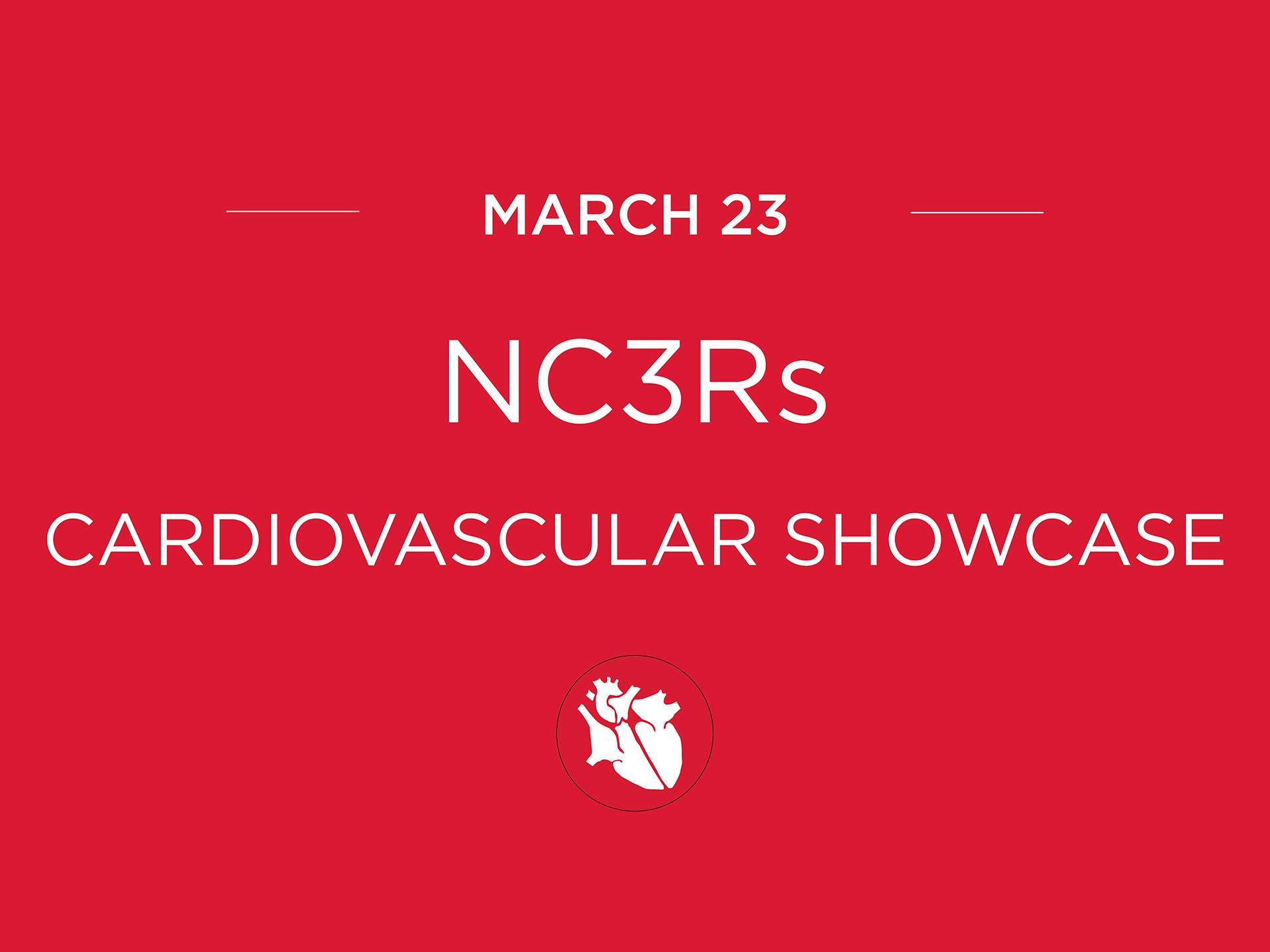 NC3RS  NC3Rs Cardiovascular Showcase NC3RS2018